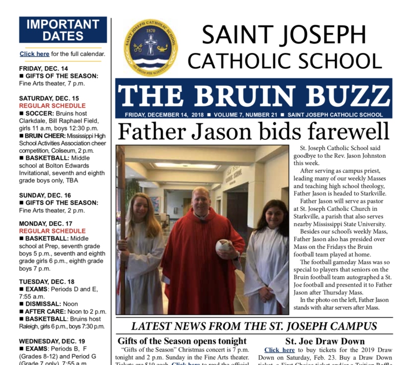 THE BRUIN BUZZ: FRIDAY, DEC. 14 Thumbnail Image