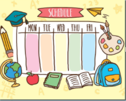Daily Student Schedule with Hybrid  - Effective April 26 Featured Photo
