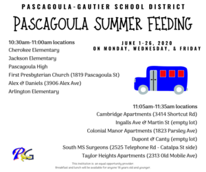 Pascagoula Summer Feeding