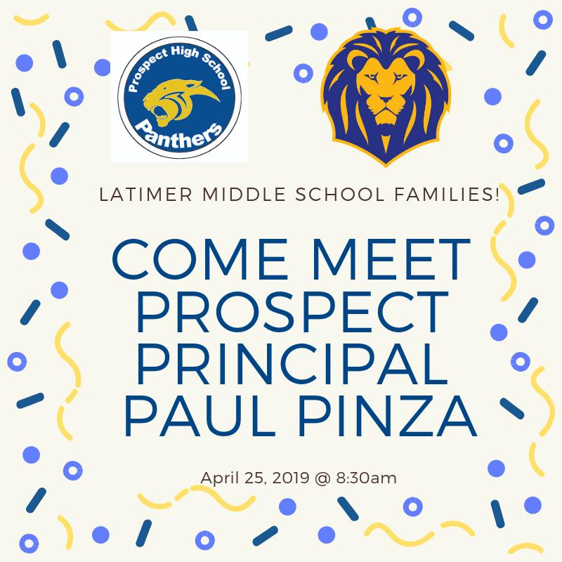 Come Meet Prospect Principal Paul Pinza! Thumbnail Image