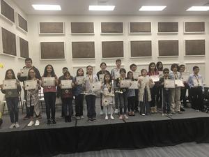 Spelling Bee campus winners
