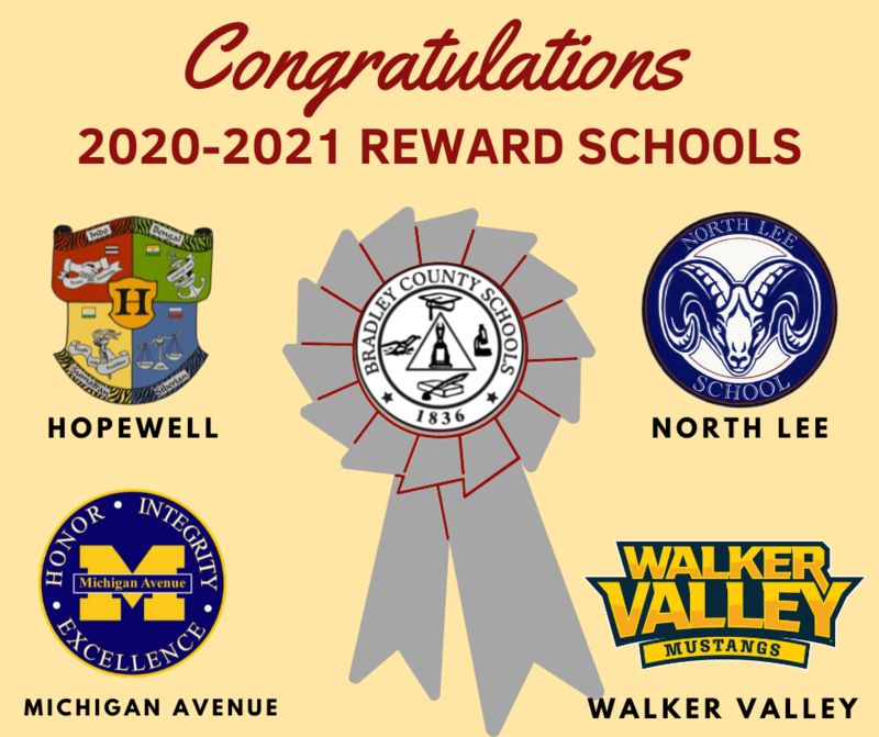 Congratulations to our 2020-2021 Reward Schools Featured Photo