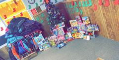 A BIG Thank you to the Rockwood Cash Express for the donated winter coats and toys for Christmas!