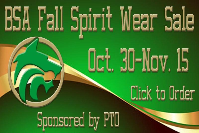 Fall Spirit Wear Click to Order