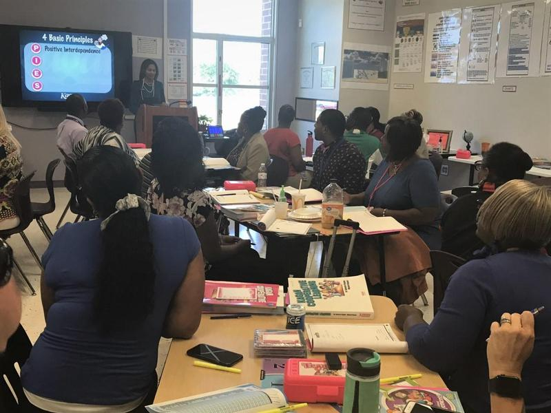 Districtwide Kagan Training conducted for Instructional Leaders
