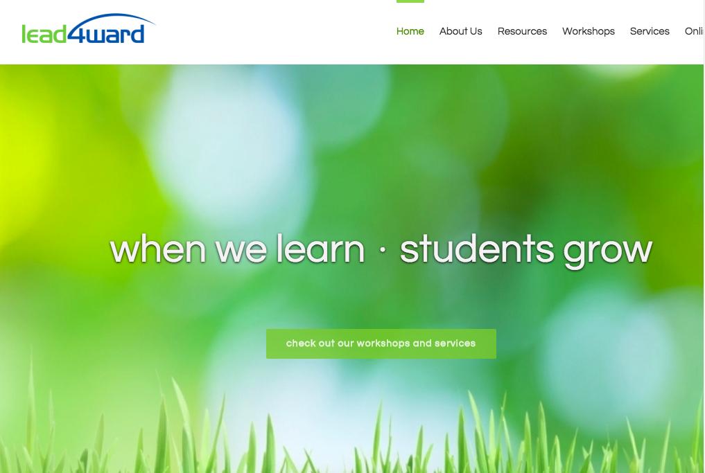 Lead4ward Website