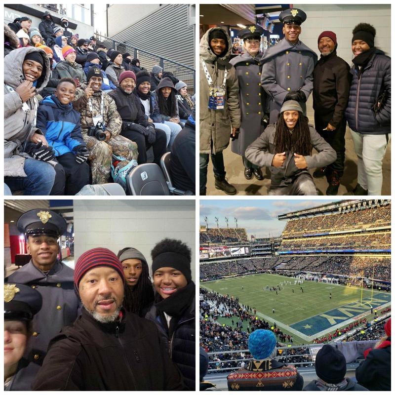 Scholars Cheer Army Football Team at Army Navy Game Thumbnail Image