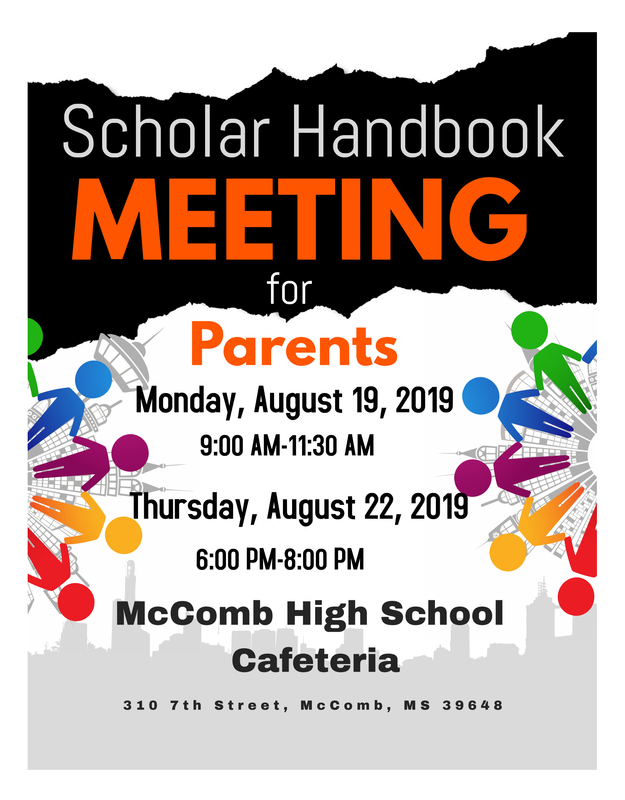 McComb School District Scholar Handbook Meeting for Parents! #WeWantMore! Featured Photo