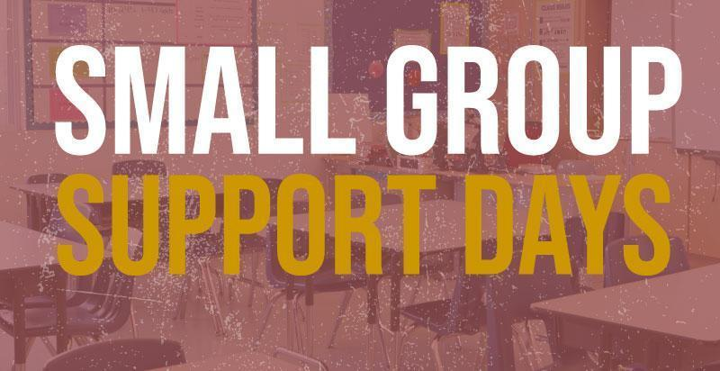 small group support days