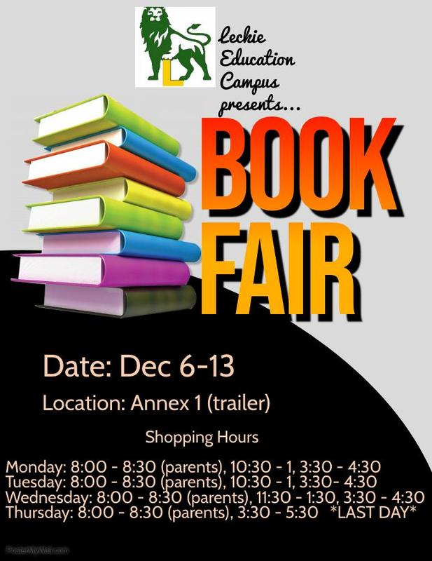 Book Fair - December 6 - 13th. Featured Photo