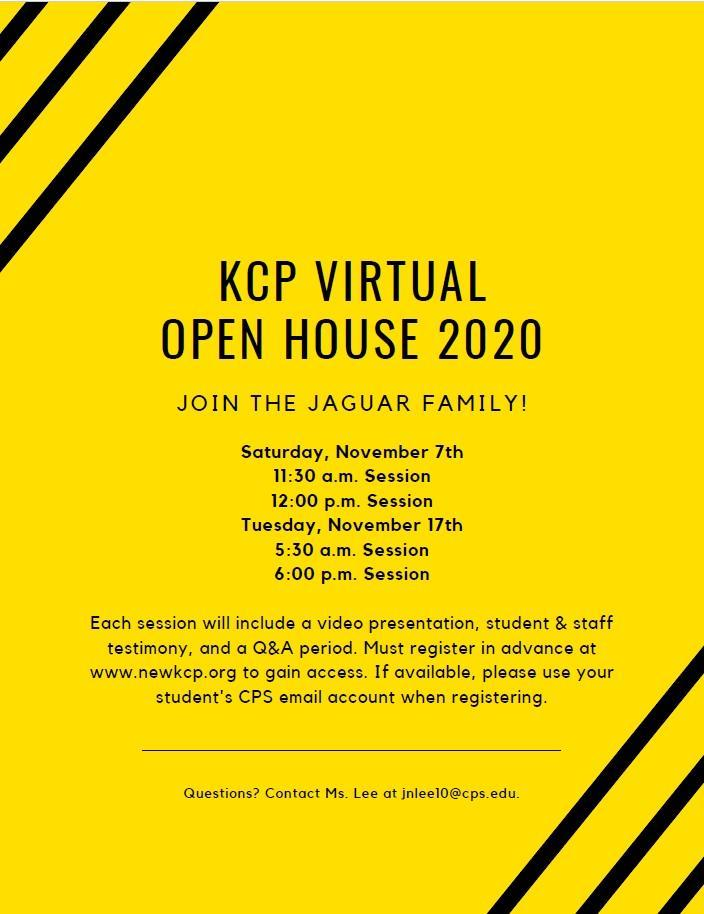KCP Virtual Open House