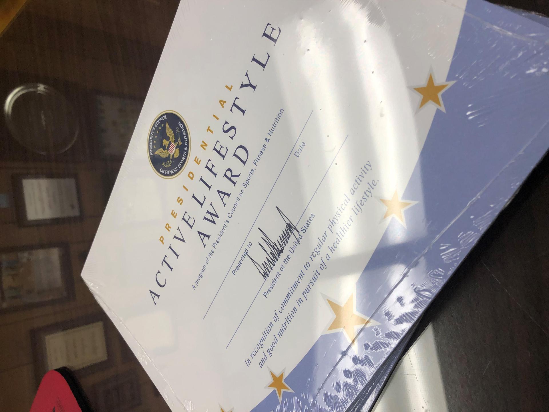 Beautiful PALA Award