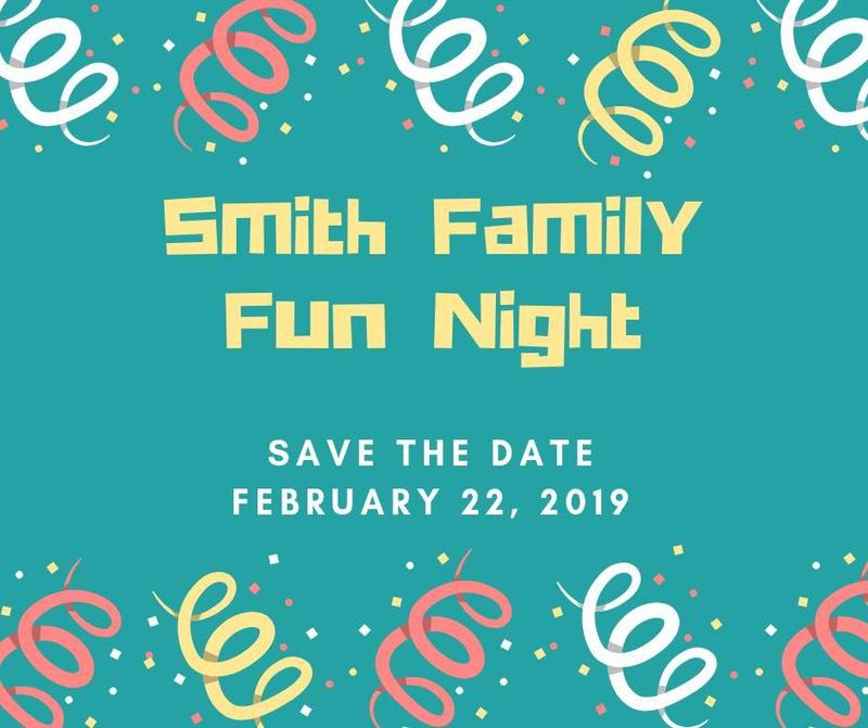 Smith Family Fun Night Banner