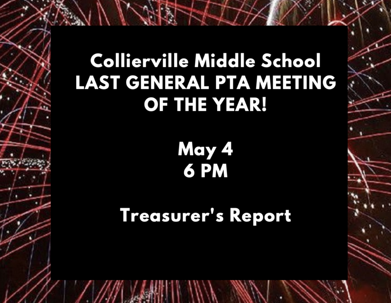 May 4th Treasurer's Report Featured Photo