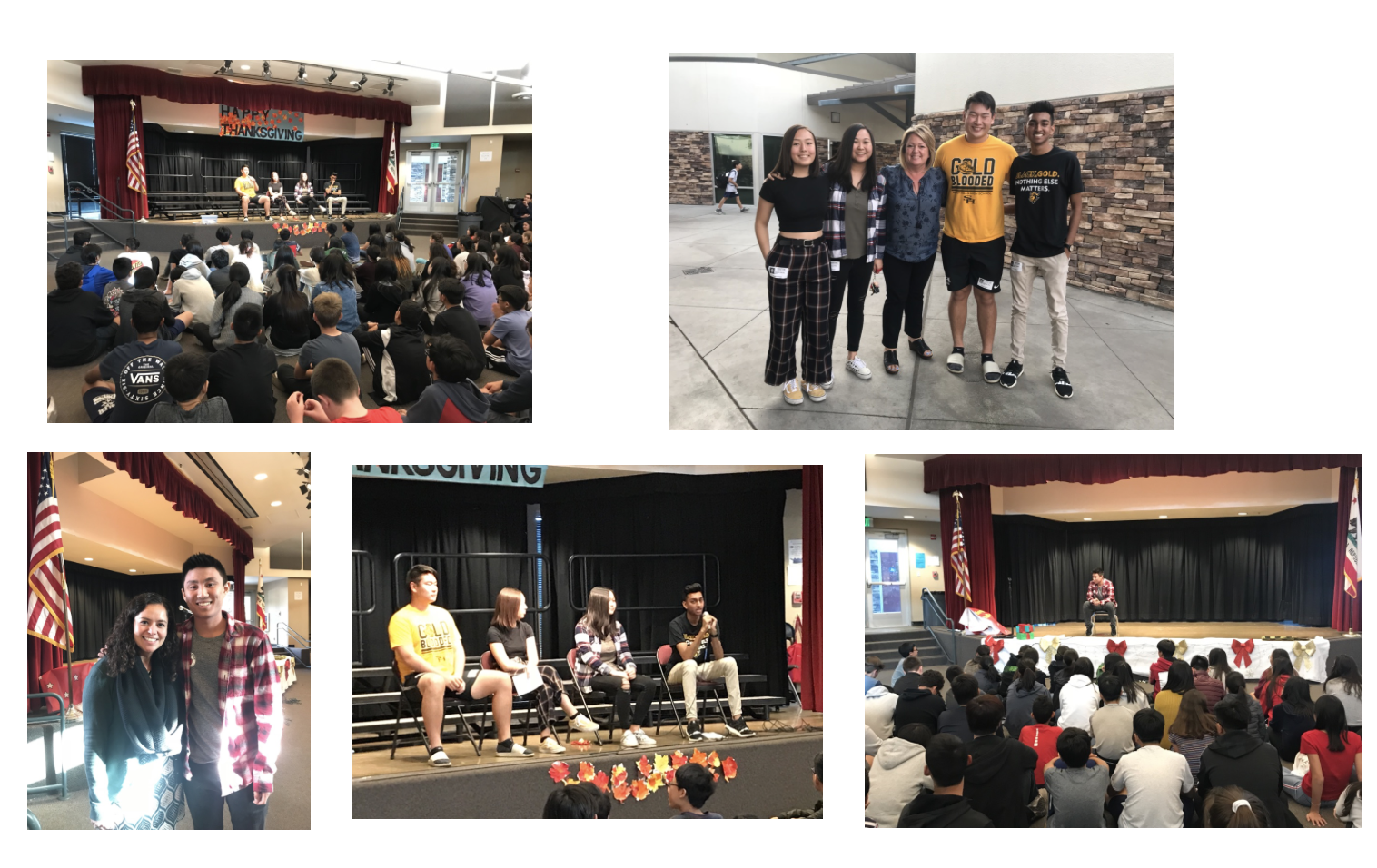 Sunny Hills High School Q & A Panel