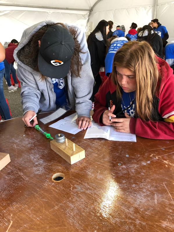 LV 8th Grade Students Among 500 Auto Club Speedway STEM Day Participants Featured Photo
