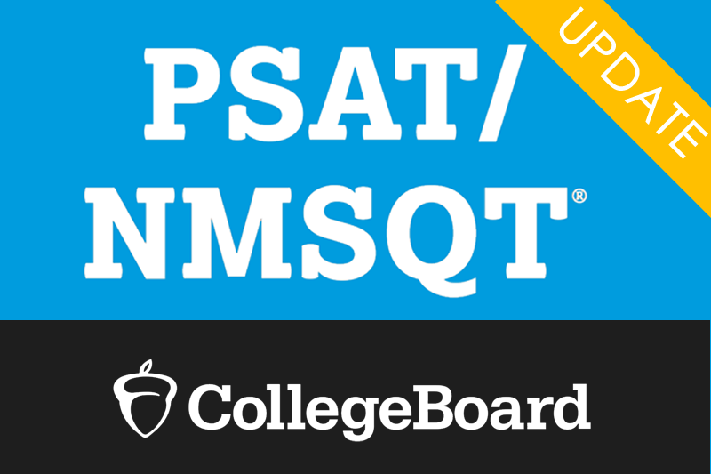 Image News PSAT/NMSQT Update