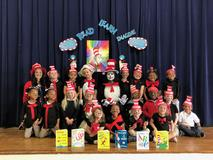 Park Vista Elementary Pre-K celebrates our favorite author, Dr. Seuss, during the month of March!