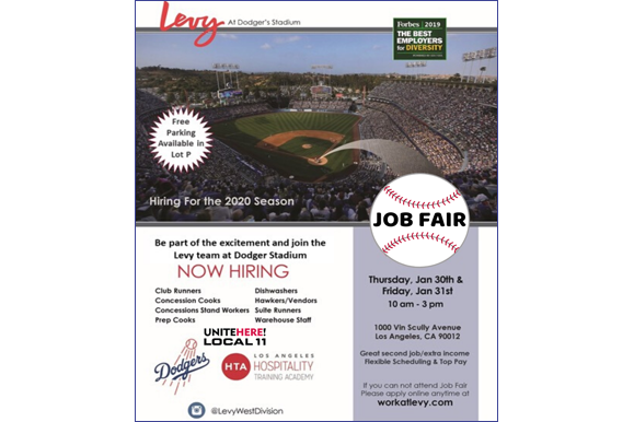 LA Dodgers Job Fair