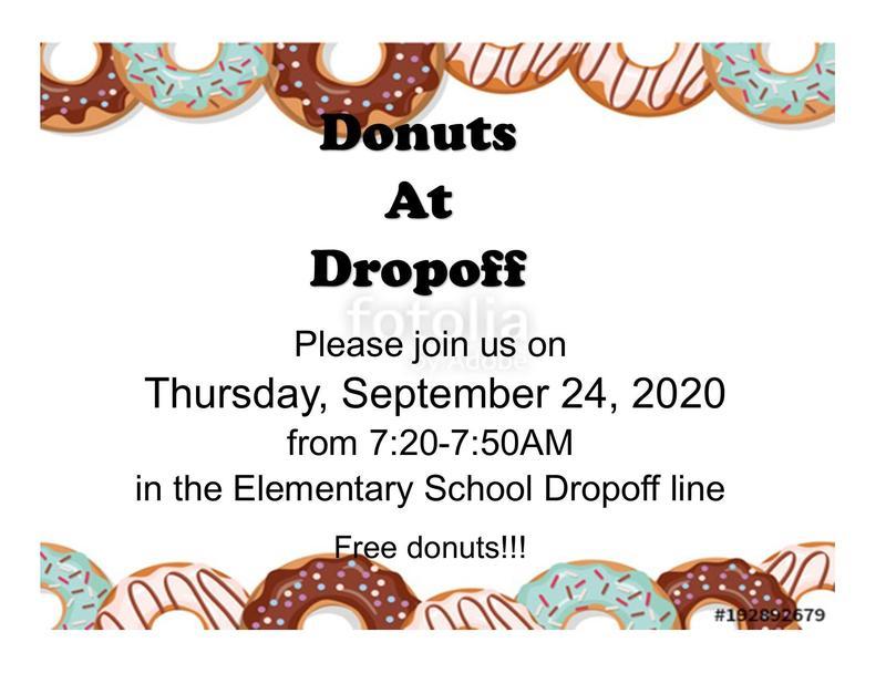 Donuts at Dropoff