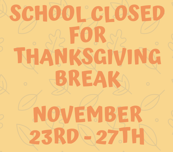 All Rutherford County Schools Closed Thanksgiving Week Thumbnail Image