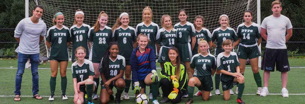 DVFriends Girls Varsity Soccer Team 2019