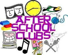 After School Clubs Clipart