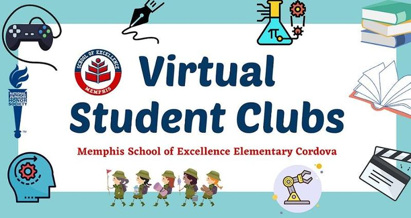 Virtual Student Clubs and Activities Will Start on 9/29/2020