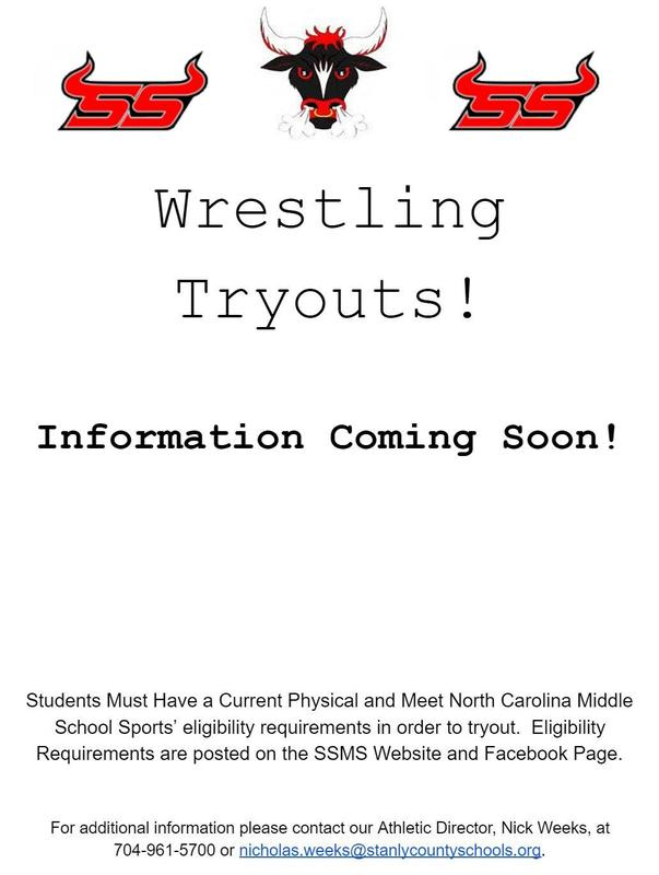 Wrestling Tryout Info Coming Soon Featured Photo