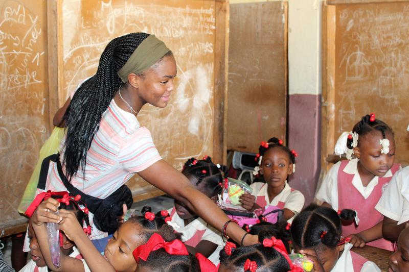 Teja Brown Haiti trip help
