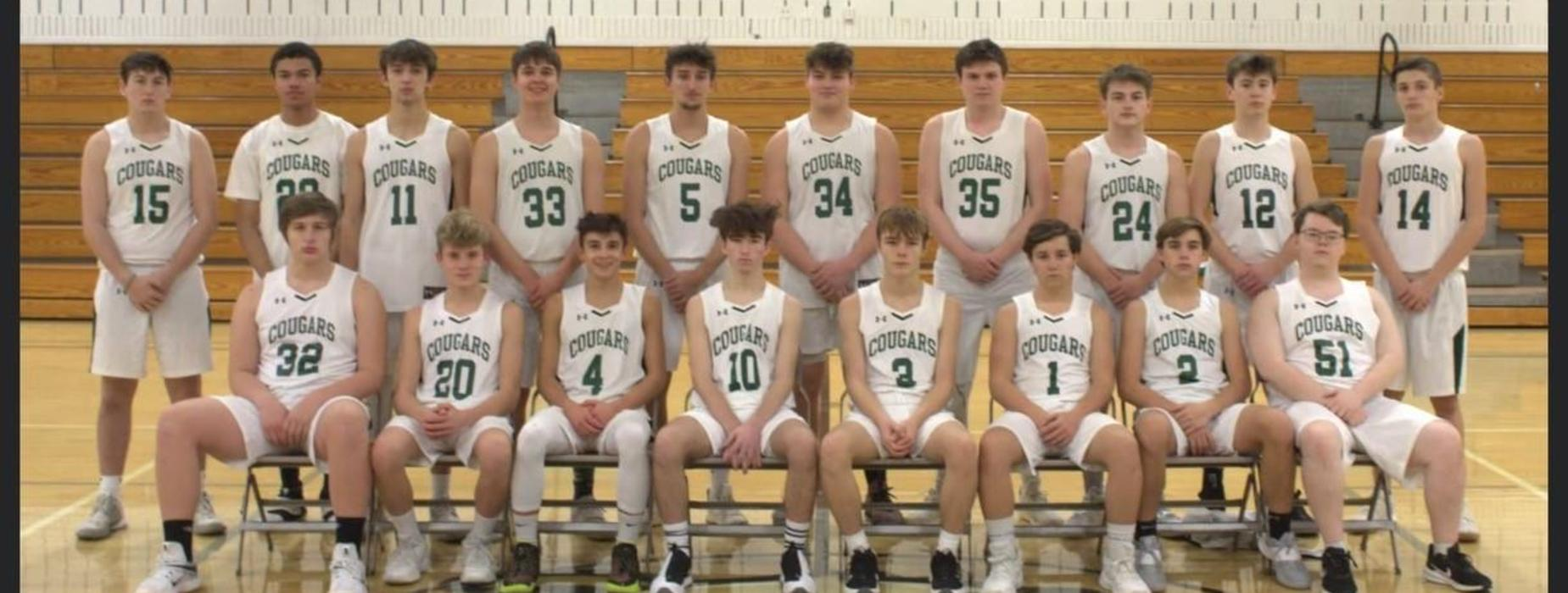 2020-2021 Boys Basketball Team