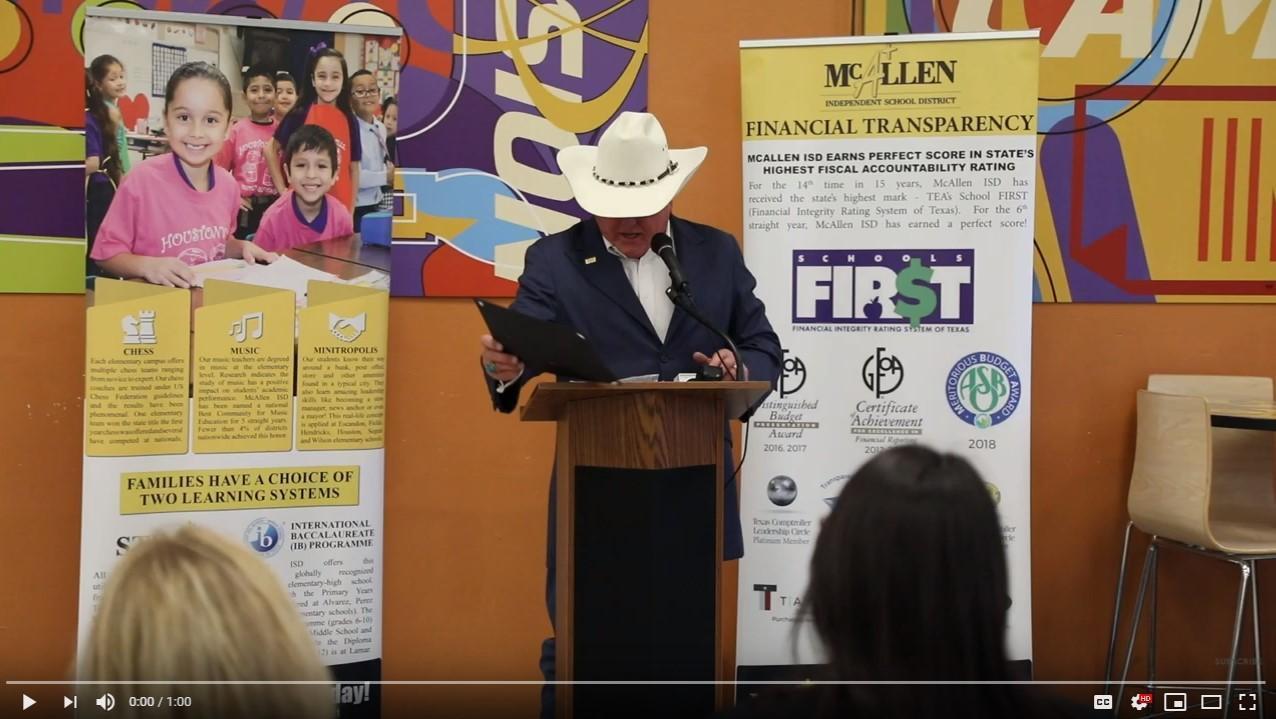 Texas Ag Office honors Lamar Student - Pablo Ramirez