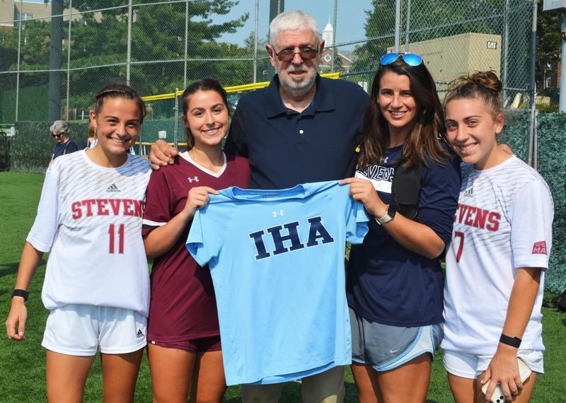 IHA Soccer Stars Reunite at Stevens Thumbnail Image