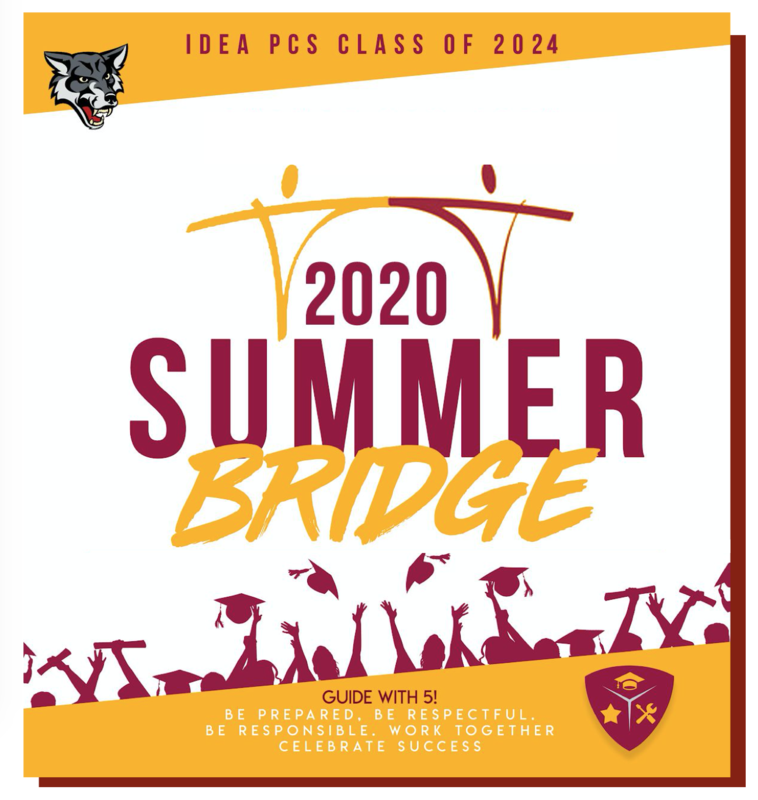 Summer Bridge Welcomes Rising 9th Graders August 24-August 28 | Click on Read Full Story to Register! Thumbnail Image