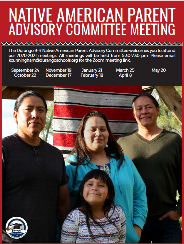 Image of Native Family with 20-21 Meeting Dates