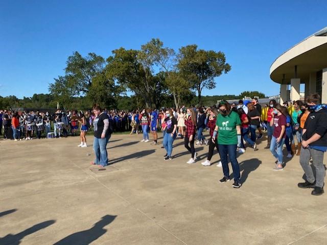Pep Rally Thriller Dance