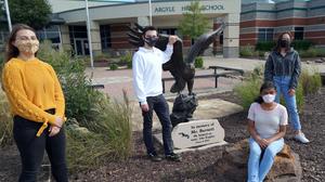 Eagle high school students