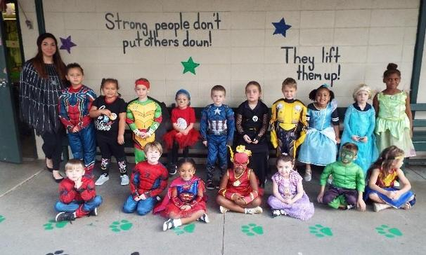 Ms. Prudhomme's Class for Character Day
