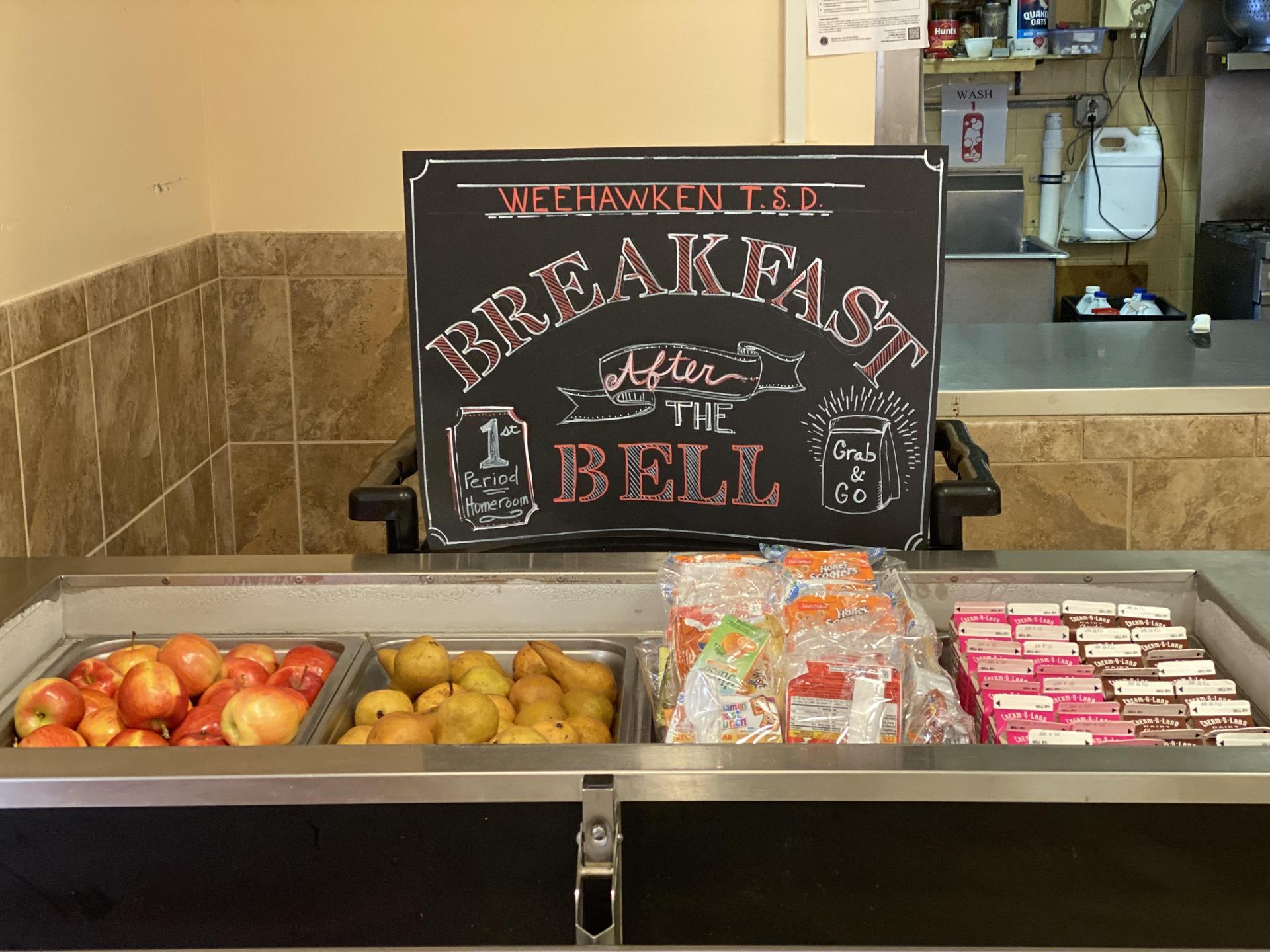 WHS Breakfast Kiosk