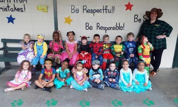 Pre-K Character Day