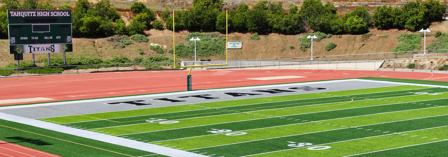 Tahquitz High school football field