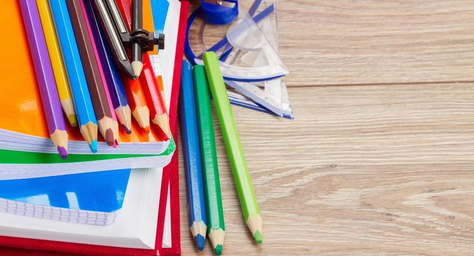 School Supplies (Stock Photo)