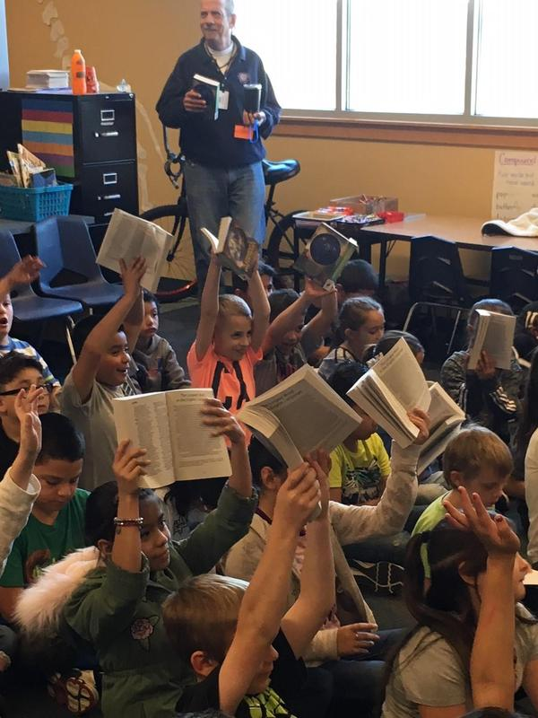 Rotary Club Donates Dictionaries to Washington 3rd Graders Thumbnail Image