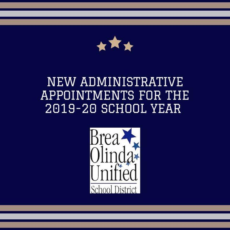 new administrative appointments