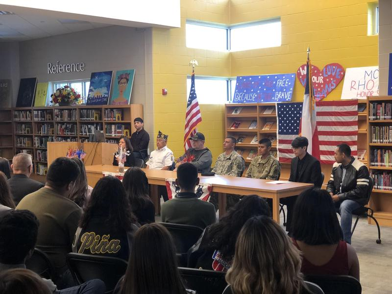 Rho Kappa National Social Studies Honor Society Pays Tribute to Veterans Featured Photo