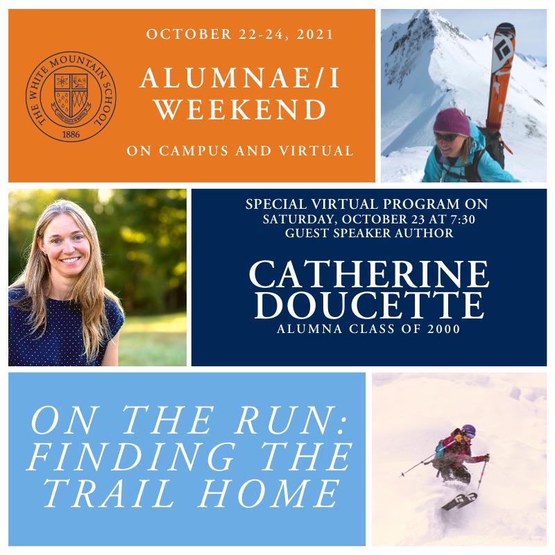 Alumnae/i Weekend Guest Speaker, Catherine Doucette '00