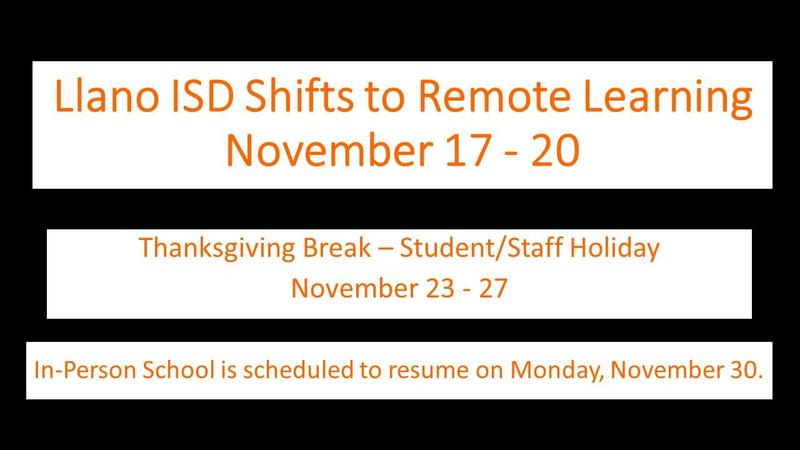 LISD Shifts to Remote Learning Featured Photo