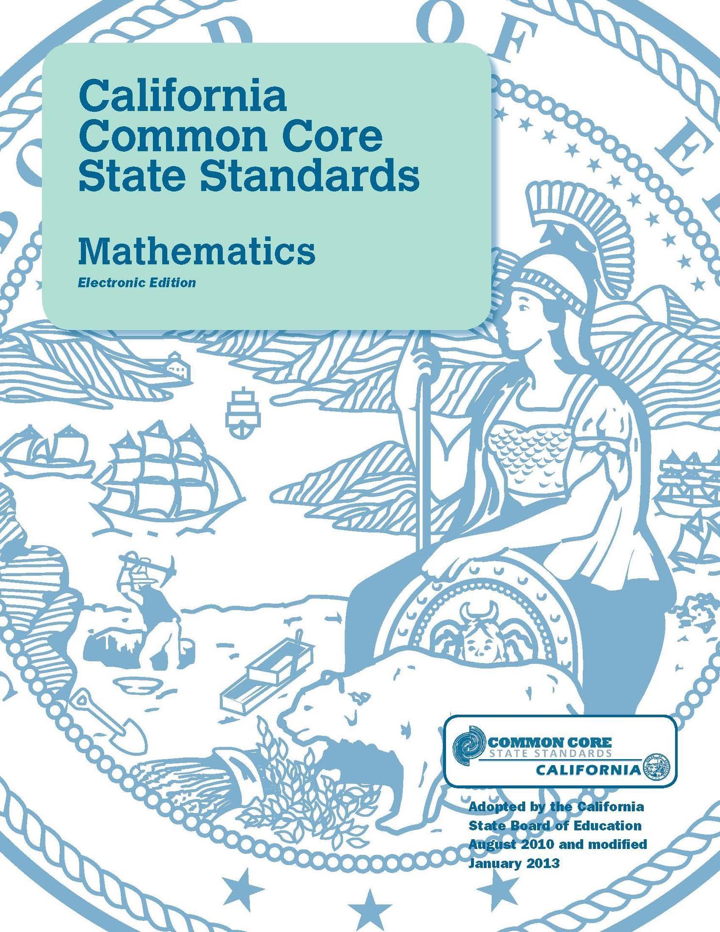 Common Core Math Standards Image