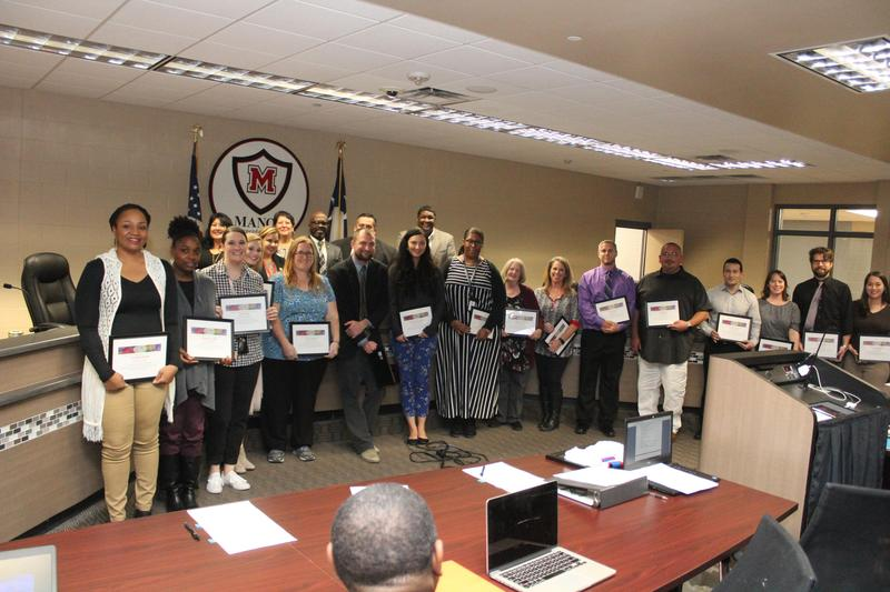 Manor ISD Celebrates Teacher of the Month for November Thumbnail Image
