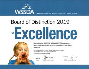 2019 Board of Distinction Award